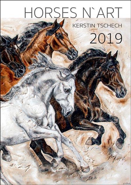 Pferdekalender 2019 Kerstin Tschech