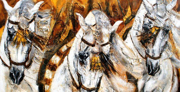 Pferdedruck Pferdeposter