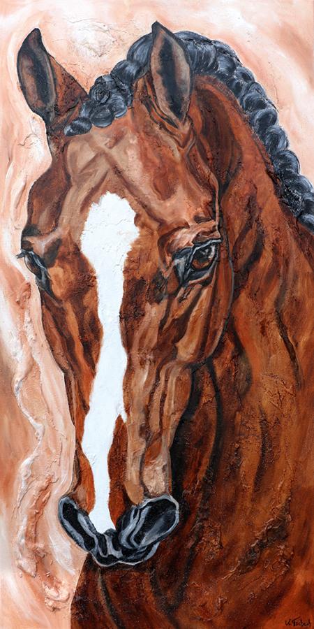 Pferdegemälde Sportpferd