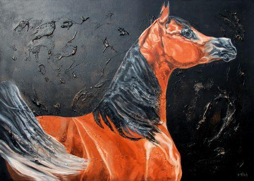 Araber Pferdekunstdruck